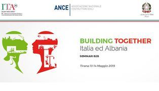 Building Together Italia - Albania, Tirane 14 Maj 2015