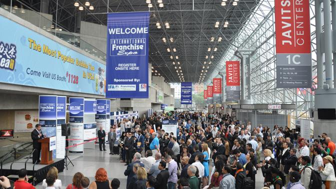 International Franchise Exhibition, May 30 - June 1, New York, U.S.A