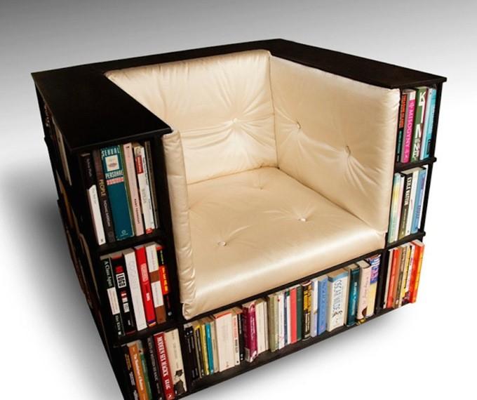 Ide kreative per raftin e librave ne shtepine tuaj